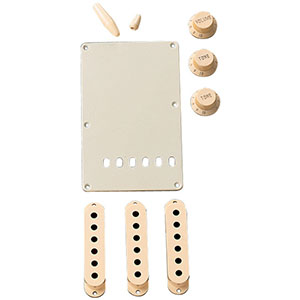 Fender Stratocaster Accessory Kits Aged White [0991368000]