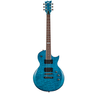 ESP LTD EC-200QM - See Thru Blue [LEC200QMSTB]