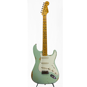 Fender 2014 Custom Shop 1956 Heavy Relic Stratocaster Aged Sonic Blue [01511602872]