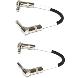 8th Street Music Patch Cable Pair []