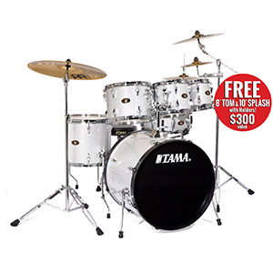 Tama IM52K Imperialstar Hairline White Sparkle [IM52KH6HLWS]