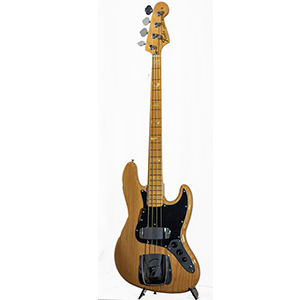 FSR American Vintage 75 Jazz Bass Aged Natural