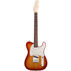 American Deluxe Telecaster - Aged Cherry Burst