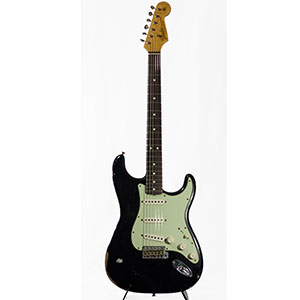 Fender Custom Shop L Series 1964 Stratocaster Relic Black [1519641806]