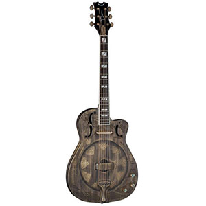 Dean Resonator Thin Body Brass Plated