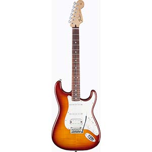 Fender Deluxe Stratocaster HSS Plus Top w/ IOS Connectivity - Tobacco Sunburst