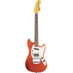 Kurt Cobain Mustang Fiesta Red