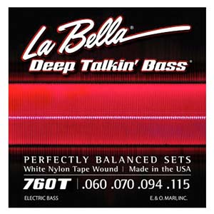 LaBella 750N Black Nylon Tape Wound