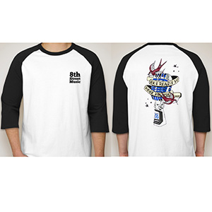 8th Street Music Shure Rock The Mic T-Shirt [ROCKTHEMIC LARGE]