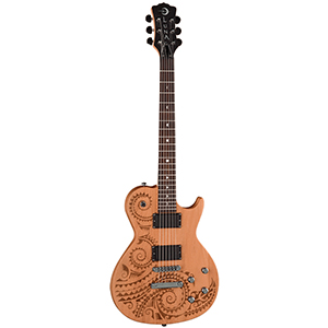 Luna Guitars Apollo Tattoo