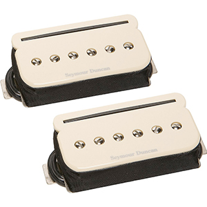 Seymour Duncan  SHPR-1s P-Rails - Neck and Bridge Pickup Set Cream