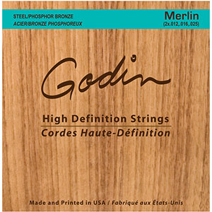 Seagull M4 Merlin High-Definition Strings