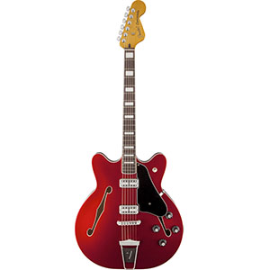 Fender Coronado Guitar Candy Apple Red