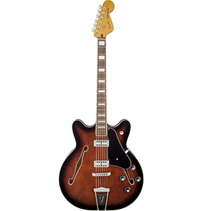 Fender Coronado Guitar Black Cherry Burst