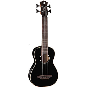 Luna Guitars Ukulele Bass - Classic Black