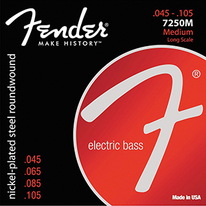 Fender 7250M Bass Strings .045-.105