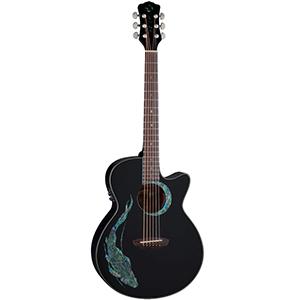 Luna Guitars Fauna Koi
