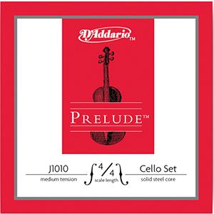 Daddario J1010 4/4 size Cello String Set - Medium