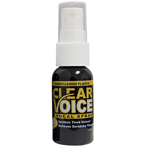 Clear Voice Vocal Lubricant - Honey Lemon