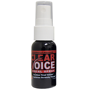 Clear Voice Vocal Lubricant - Strawberry-Lemonade