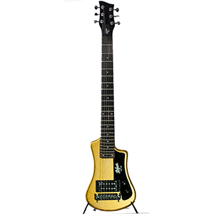 Hofner Shorty Guitar - Gold Top