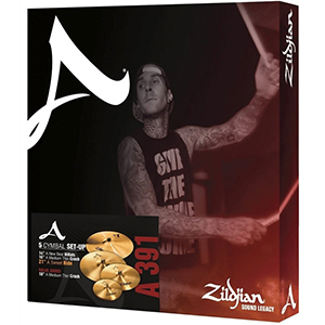 Zildjian A Series 391 Sweet Ride Cymbal Pack