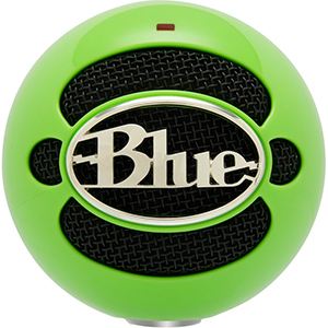Blue Snowball Electric Neon Green
