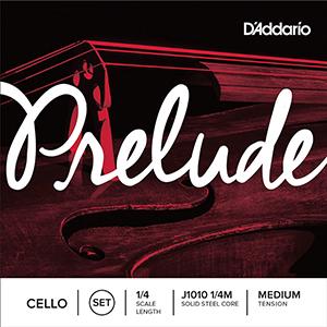 Daddario J1010 1/4M Prelude Cello String Set