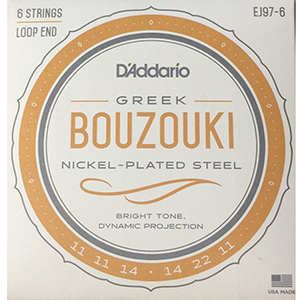 Daddario EJ97-6 Greek Bouzouki String Set