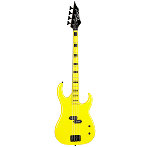 Dean Custom Zone Bass Yellow