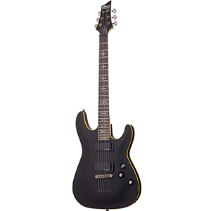 Schecter DEMON-6 Aged Black Satin