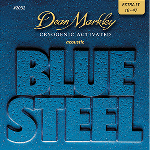 Dean Markley 2032  Blue Steel Cryogenic Acoustic