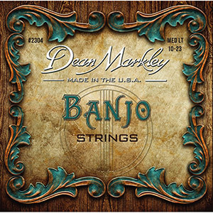 Dean Markley 2304 Banjo Strings - Medium Light