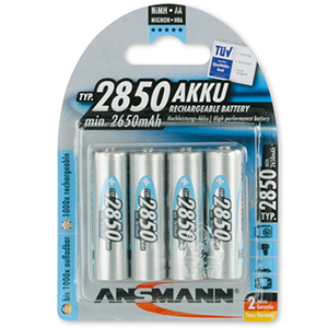 Ansmann NiMH Rechargeable Battery Mignon AA