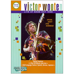 Hudson Music Victor Wooten: Live at Bass Day 98 DVD