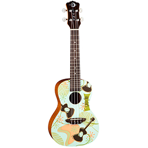 Luna Guitars Daddy-O Ukulele