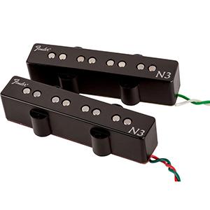 Fender N3 Noiseless Jazz Bass Pickups Black