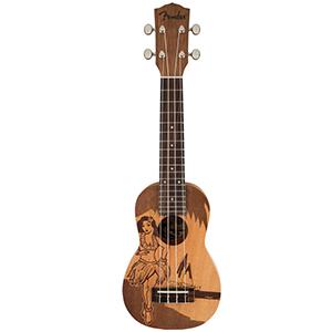 Fender Piha Soprano Ukulele