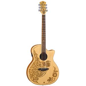 Luna Guitars Henna Oasis - Spruce