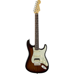 Limited Edition American Deluxe Mahogany Stratocaster HSS Mahogany Stain