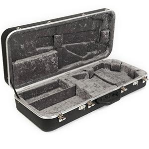 Hiscox Pro II-MANdolin Black w/ Silver Interior