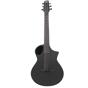 Composite Acoustics The Cargo - Satin Back Raw Carbon Fiber Top