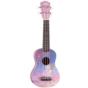 Luna Guitars Aurora Soprano Childrens Ukulele - Faerie V2