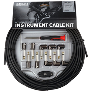 Daddario DIY Solderless Instrument Cable Kit