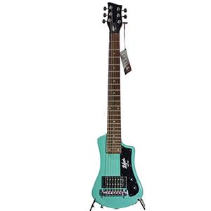 Hofner Shorty Guitar - Electric Blue