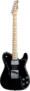 Fender 72 Telecaster Custom - Black with Gig Bag - Maple