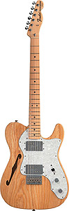 Fender 72 Telecaster® Thinline - Natural with Gig Bag [0137402321]