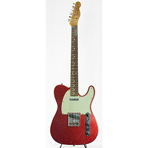 Fender Custom Shop 1963 Telecaster Journeyman Relic Aged Red Sparkle
