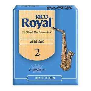 Rico Alto Royal Sax Reeds 2.0 - 10-pack