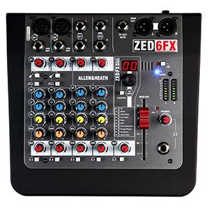 Allen Heath ZED-6FX